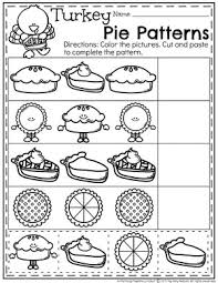 thanksgiving pattern worksheets switchconf