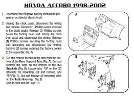 2001 honda accord radio wiring diagram wiring diagram and