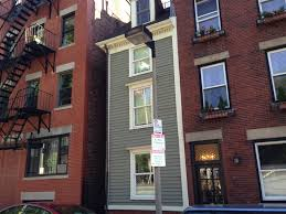 Narrowest House In Boston New England Folklore Boston U0027s Skinny House
