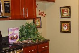 kitchen theme ideas for decorating coffee themed kitchen décor all home decorations