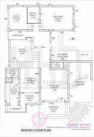 floor plan of 260 sq m house elevation kerala home design and