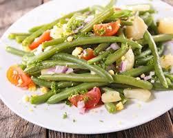 cuisiner haricot vert recette salade express haricots verts pommes de terre et tomate