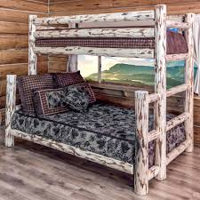 Log Bed Pictures by Pine Log Bedroom Furniture
