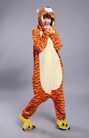 cincinnati bengals halloween costume amazon com honeystore unisex tiger pajama halloween costume