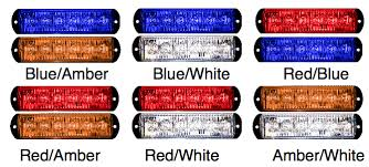 red led marker lights 8evp e106d dual color led light