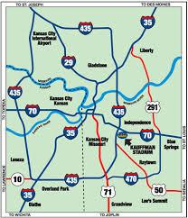 kansas city metro map get to the k kansas city royals