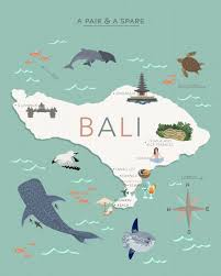 Map Of Bali Our Creative Escape To Bali U2013 Diy U0026 Craft