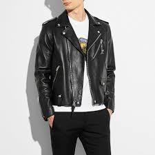moto jacket coach moto jacket