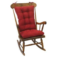 Rocking The Chair Gripper Jumbo Rocking Chair Cushions Nouveau Walmart Com