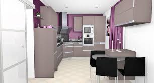 canapé cuir prune d coration cuisine prune avec sejour salle a manger cuisine moderne