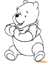 winnie the pooh printable coloring pages 4 disney coloring book