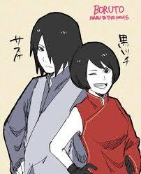 sasuke and sasuke and kurotsuchi nî rï ñ o ã ã ã sasuke