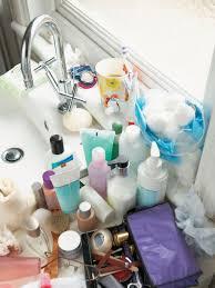 decluttering the bathroom hgtv