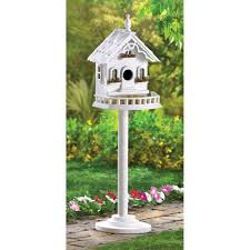 amazon com freestanding beautiful victorian birdhouse bird