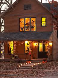 halloween window decorations 40 easy to make diy halloween decor