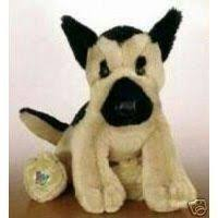 animal alley 9 inch stuffed german shepherd black and tan toys toys r us plush 9 inch german shepherd black and tan toys r us