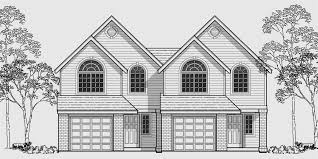 house plan with two master suites duplex house plans corner lot duplex house plans narrow lot