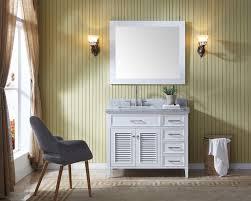 Bathroom Single Sink Vanities by Ariel Kensington 43