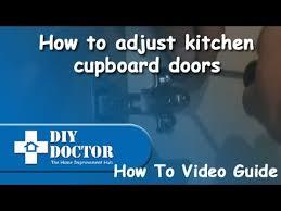 adjust kitchen cabinet doors how to adjust kitchen units cupboard doors to make cupboard door