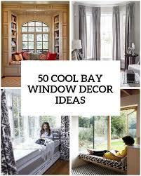 window drapery ideas bay window ideas 50 cool bay window decorating ideas shelterness