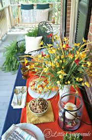 Summer Table Decorations Summer Table Decorating Ideas Home Design U0026 Architecture Cilif Com