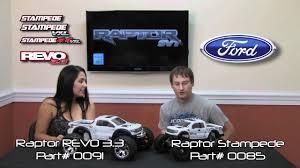Ford Raptor Nitro Truck - ford raptor traxxas stampede u0026 revo 3 3 youtube