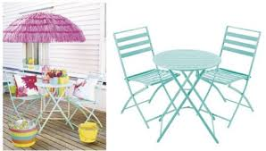 Tesco Bistro Chairs Milan Folding Metal Bistro Set Was 70 Now 36 Tesco Direct