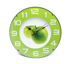 green green kitchen clock glass wall clock gallery of kitchen