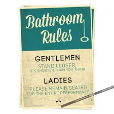 Bathroom Shopping Online by Compare Prices On Bathroom Rules Poster Online Shopping Buy Low