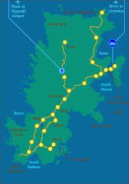 fair isle shetland fair isle area map