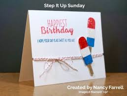 birthday archives simple stampin
