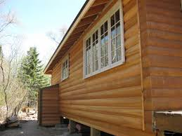 log wood siding types of wood brown and rutherford canada
