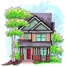 craftsman alley load house plan 89714ah architectural designs craftsman alley load house plan 89714ah 01