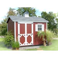exterior little cottage company classic wood storage shed