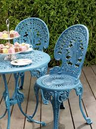 How To Paint Wrought Iron Patio Furniture by Painted Wrought Iron Patio Furniture Home Design Ideas