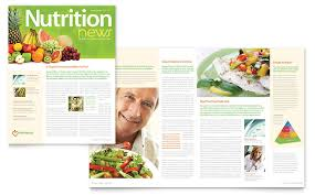 26 health newsletter templates free nutritionist dietitian