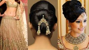 lehenga style saree draping with makeup and hairstyle step by step