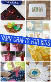 easy yarn crafts for kids katie u0027s crochet goodies