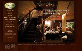 28 examples of bar grill and steakhouse websites spyrestudios