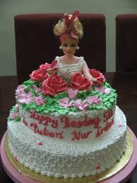 happy birthday cake barbie doll images