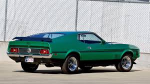 Mustang Mach One 1971 Ford Mustang Mach 1 Fastback F155 1 Indy 2016