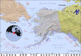 Maps Alaska by Alaska And The Aleutians Public Domain Maps By Pat The Free