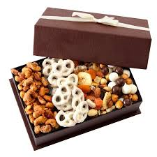 nuts gift basket broadway basketeers touch of class gourmet fruit and nut gift