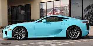 lexus lfa my dream car in a mint green blue color one day