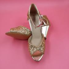 wedding shoes block heel gold sequin wedding shoes peep toe ankle straps low chunky heel