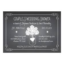 couples wedding shower invitations personalized couples wedding shower invitations