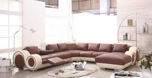 sofa mesmerizing modern leather sectional sofa with recliners