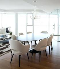 kitchen tables including modern white pedestal table and chairs