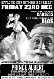 friday 23rd december 2011 cable35 and olos at the brixton offline