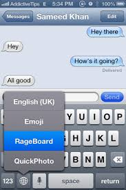 Iphone Text Memes - add rage faces memes to iphone keyboard with rageboard